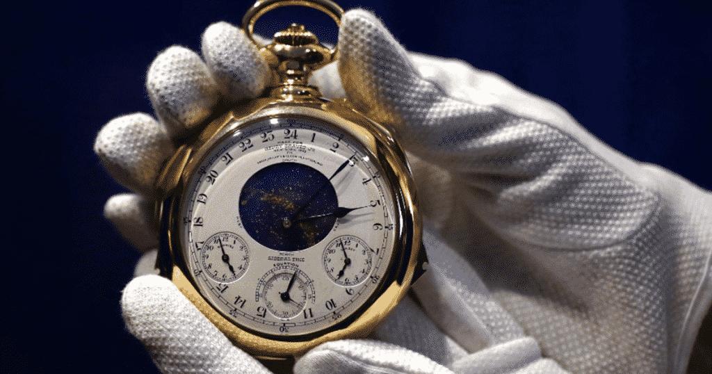 Patek Philippe Henry Graves Supercomplication watch