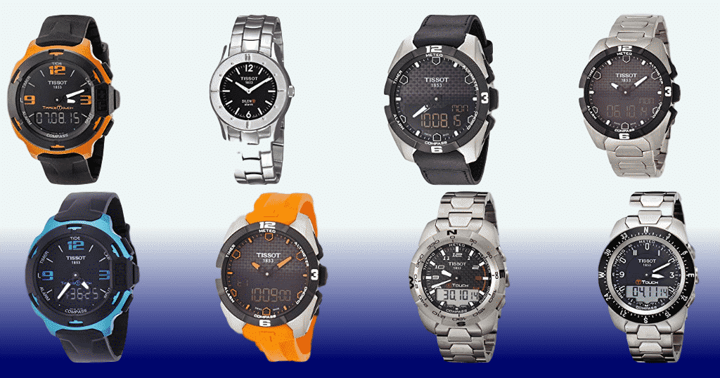The Tissot T-Touch watch