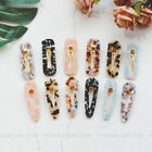 2pcs Women Vintage Leopard Hair Clip Charm Bobby Pin Hairband Hairpin Barrette