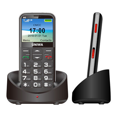 3G WCDMA GSM Mobile Phone for Senior Elder BIG KEY FONT LOUD RING T-MOBILE AT&T
