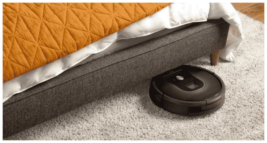 Robotic Vacuum Clean even under the sofa