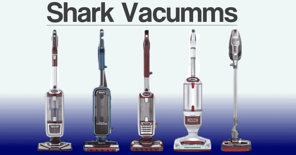 Shark vacuum cleaning