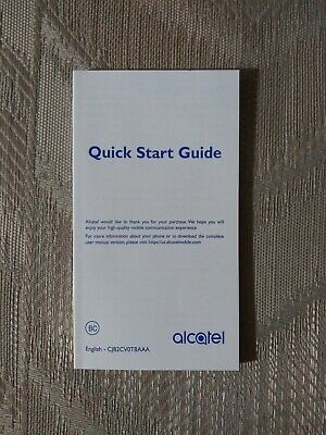 Alcatel Mobile Phone Manual 7