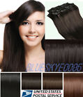 BEST Selling Clip In Remy Hair Extensions Full Head Blonde look like Human hair