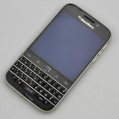 BlackBerry Classic 16GB Black Verizon Smartphone No SIM CB998