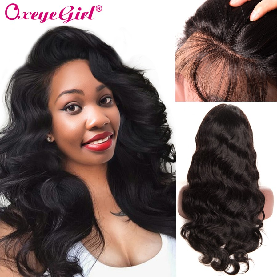 Brazilian Body Wave Wig Lace Front Human Hair Wigs For Black Women Remy Hair Pre Plucked Lace Front Wig With Baby Hair Oxeyegirl