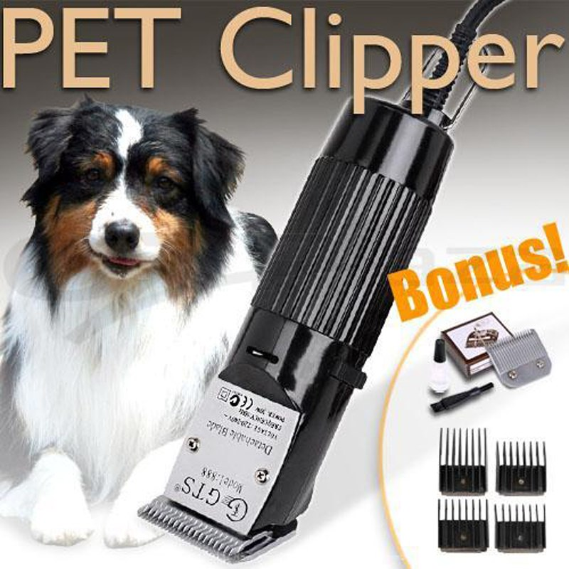CHJ Electric Hair Cutting Machine For Pet Hair Trimmer Professional Hair Clipper For Dog Electric Animal Shaving Machine GTS888