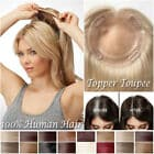 Remy Hair Topper 12