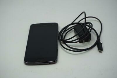 Good Used Gray Motorola Moto G5 Plus 32GB Unlocked XT1687 Amazon Phone B0609