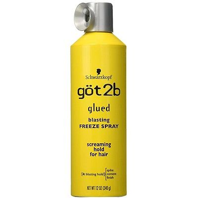 Got2b Glued Blasting Freeze Spray 12 oz - BRAND NEW & FREE SHIPPING!