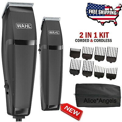 Hair Cutting Kit Cordless Hair Clippers Machine Trimmer MEN Grooming Barber Set