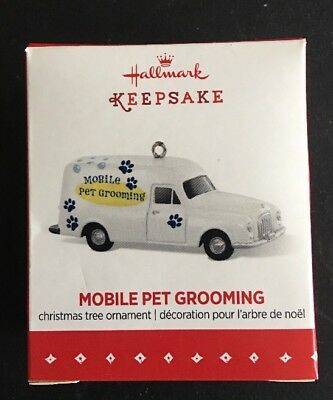 Hallmark: MOBILE PET GROOMING - Limited Edition - Miniature - 2015