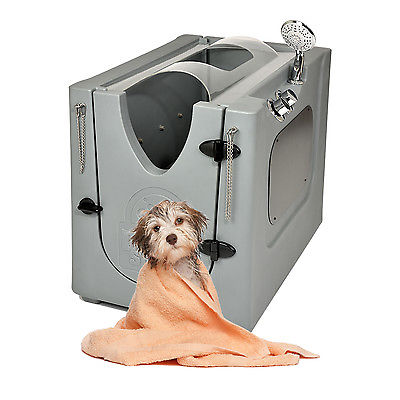 Home Pet Spa - Mobile Pet Dog Washing and Grooming Wash Tub indoor/outdoor NIB