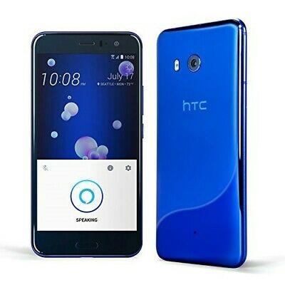 HTC U11 Factory Unlocked 64GB Sapphire Blue with hands-free Amazon Alexa