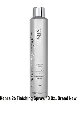 Kenra Professional Platinum Finishing Spray #26 Maximum Hold, 10 Oz /283 Grams