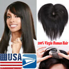 Mono Silk Base Virgin Human Hair Topper Hair Piece Wigs for Women Free Part P140