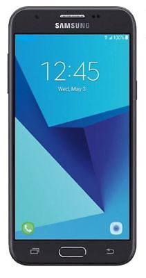 New Samsung Galaxy J3 Prime Silver 16GB SM +1MO FREE SERVICE+AMAZON+15MG HOTSPOT
