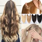 human hair extensions one piece 9