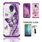 Phone Case for Alcatel idealXTRA / Alcatel 1X Evolve, Diamond Cover Case + TG