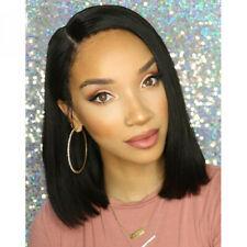 Pro Glueless Bob Wig Brazilian Straight Short Lace Hair Wigs For Black Women US