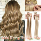 "Russian Tape In Full Head 100% Remy Human Hair Extensions THICK 16""-22"" US P310"
