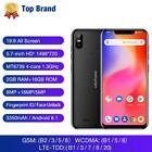 Ulefone S10 Pro 5.7in Android 8.1 MT6739 Quad Core 2B RAM+16GB ROM 4G Smartphone