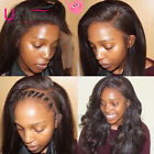 UNice Lace Front Wigs Human Hair with Baby Hair Brazilian Body Wave Wet and Wavy