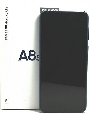 USED -Samsung Galaxy A8s 2019 SM-G8870 (FACTORY UNLOCKED) 128GB Blue