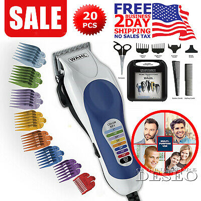 Wahl Pro Clipper Men Professional Hair Cut Clippers Barber Cutting Kit Trimmer