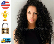 Water Wave Brazilian Lace Front Wigs+Baby Hair 150% Density Pre Plucked Curly