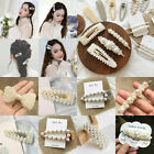 Wholesale Pearl Hair Clip Hairband Comb Bobby Pin Barrette Hairpin Headdress