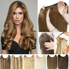 Wire In Remy Headband Human Hair Extension No CLIP Secret Helo Weft US Best T557