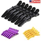 6pcs Salon Croc Hair Styling Clips-Sectioning Alligator Hair Clip Plastic New
