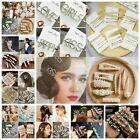 Elegant Pearl Barrettes Hair Clips Hairpin Slide Grips Headdress for Women Girls