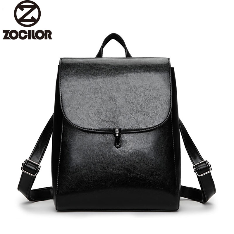 Fashion Women Backpack High Quality Youth Leather Backpacks for Teenage Girls Female School Shoulder Bag Lock Bagpack mochila