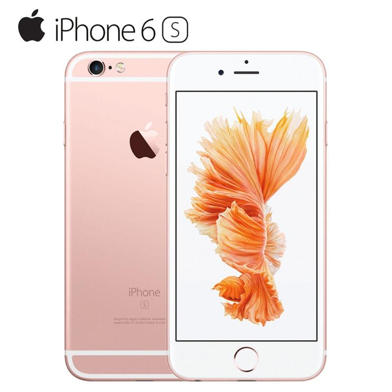 "Original Unlocked Apple iPhone 6S Smartphone 4.7"" IOS Dual Core A9 16/64/128GB ROM 2GB RAM 12.0MP 4G LTE IOS Mobile Phone"