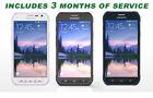 Samsung Galaxy S6 Active GSM Unlocked Phone SRB + Free 3 Months Service Plan