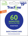 Tracfone 90 Day Prepaid Wireless Phone Plans - Pay As You Go