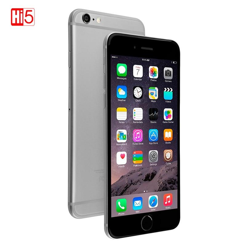 Unlocked Original Apple iPhone 6 Smartphone IOS Dual Core Mobile phone 8.0 MP Camera 4.7inch 3G WCDMA 4G LTE 16/64GB/128GB ROM