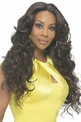 Vivica A Fox Hair Collection Sunflower Natural Baby Swiss Lace Front Wig Invisib