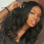 100% Raw Malaysian Human Hair Wigs Hot Curly Wavy Full Head Wig For Black Women