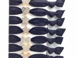 Black Hair Elastics 17