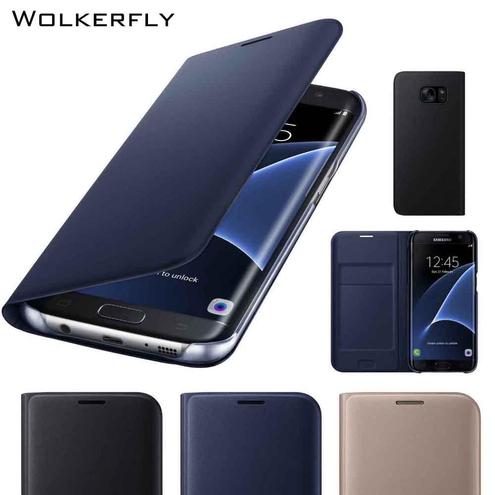 Luxury Card Slot Filp Case for Samsung S8 S9Plus S6 S7 edge A3 A5 A7 A8 Note9 Note8 J5 J7 Prime Note5 Leather Case Coque Funda