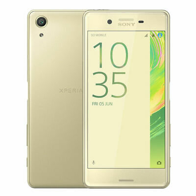 Sony Xperia X Performance F8131 32GB (Unlocked) 5.0'' 23MP Smartphone Lime Gold