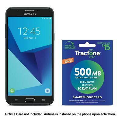 Tracfone Samsung Galaxy J7 Sky Pro (Refurbished) + $15 Tracfone Airtime Plan