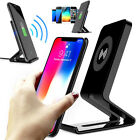 2019 Qi Wireless Fast Charger Charging Stand Dock Holder For Mobile Cell Phones