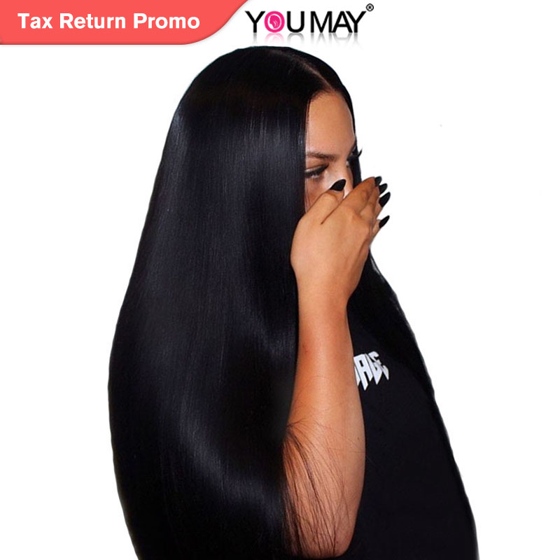 250% Density Lace Front Human Hair Wigs For Women Natural Black Brazilian Straight Lace Front Wigs 13X4 Remy Hair You May