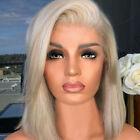 Glueless Bob Wig Brazilian Straight Short Lace Hair Wigs For Black Women