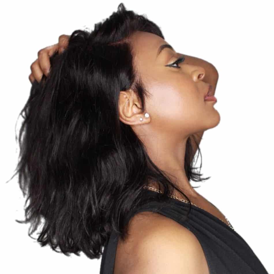 Black Hair Wigs For Women Human Hair 1