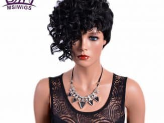 Black Hair Wigs For Women 16
